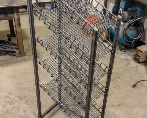 Custom Metal Shoe Rack