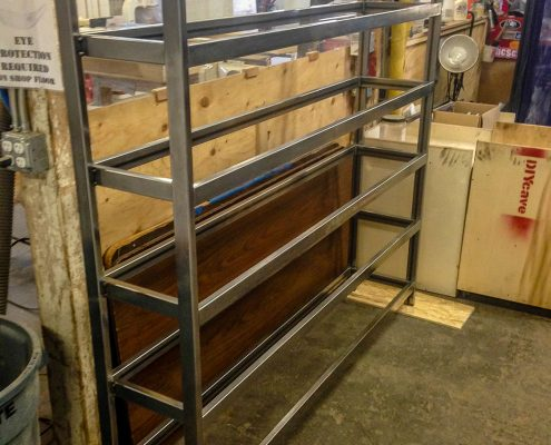 Custom Metal Shelving