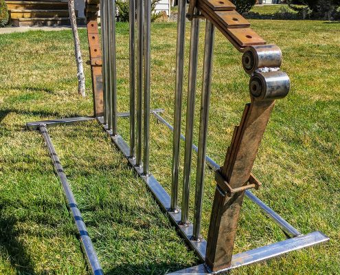 Custom Bike Rack - Bent Metal Works - Bend OR