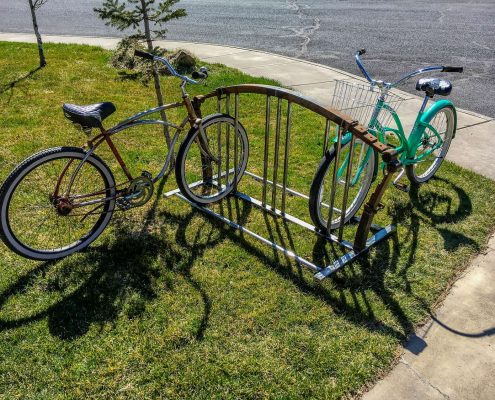 Custom Bike Rack - Bent Metal Works - Bend OR -Metal Worker