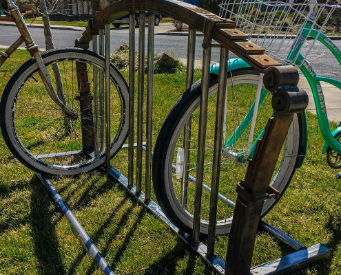 Custom Bike Rack - Bent Metal Works - Bend OR -Metal Sculptor